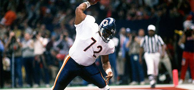 South Carolina's William Perry of the Chicago Bears