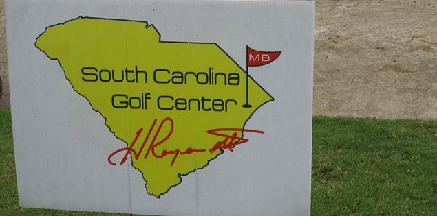 Sign for the South Carolina Golf Center