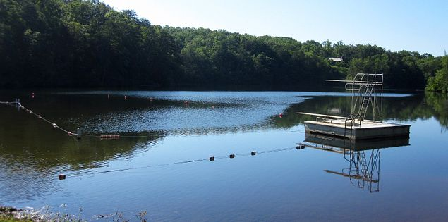 Swimming Hole Pinnacle Lake