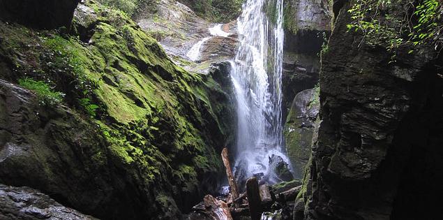 Laurel Fork Falls at South Carolina's Lake Jocassee