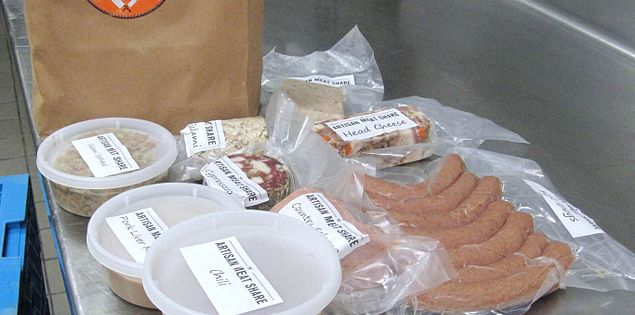Artisan meat share package