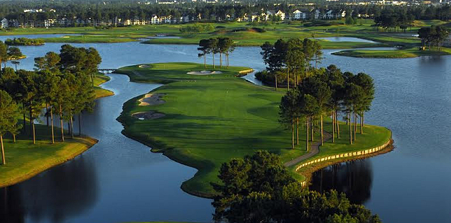 Man O' War golf course in South Carolina Lowcountry