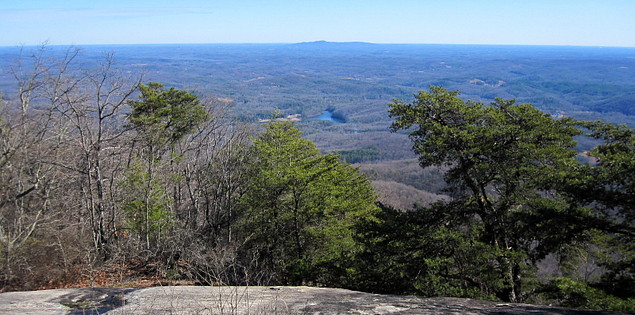 View from Pinnacle Mountain