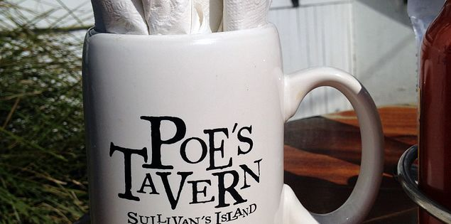 Poe's Tavern on Sullivan's Island near Charleston