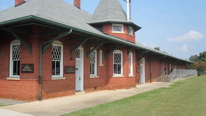 It's also home to the Ruth Drake Museum and the S.C. Tennis Hall of Fame.