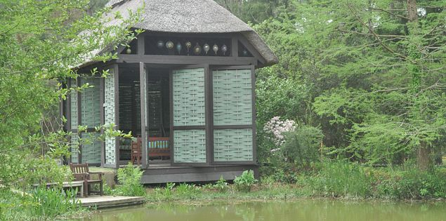 The Spring House at South Carolina's gardens by Darla Moore