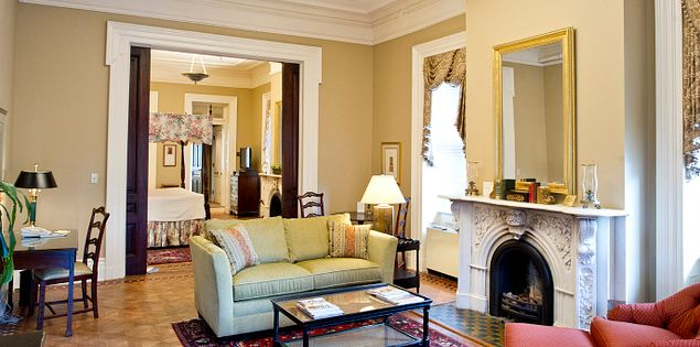 Many of the hotels in Charleston, South Carolina, are located right downtown and features well-preserved architecture and historical notions.
