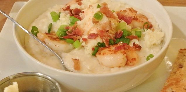 Midnight Rooster Shrimp and Grits