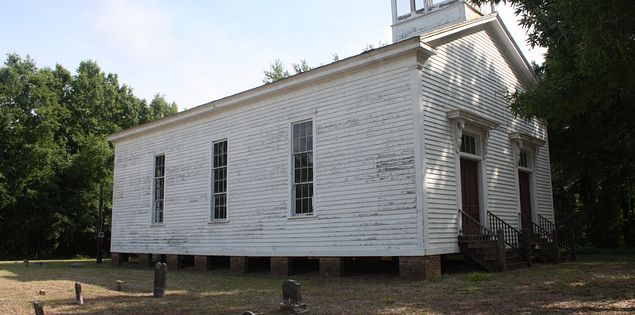 RIdgeway's Ruff Chapel in South Carolina