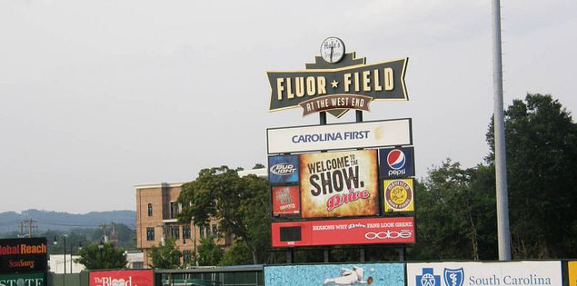 South Carolina's Fluor Field in Greenville