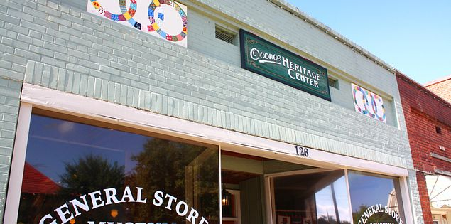 Oconee Heritage Center General Store Museum in Westminster, South Carolina