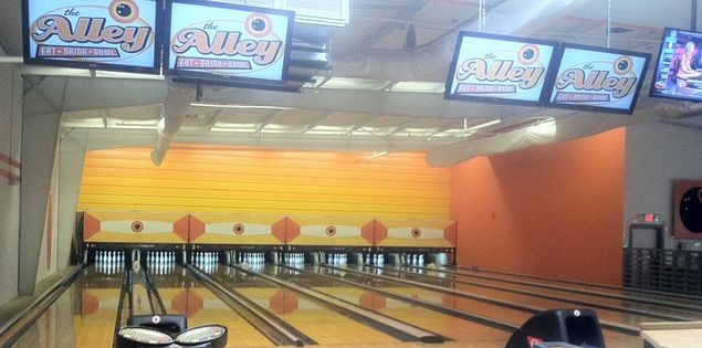 The Alley, best place to bowl a strike in Charleston, SC.