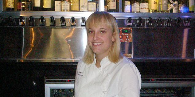 South Carolina ​Chef Deanna Demchock of Sea Blue​ Restaurant and Wine Bar on North My​rtle Beach
