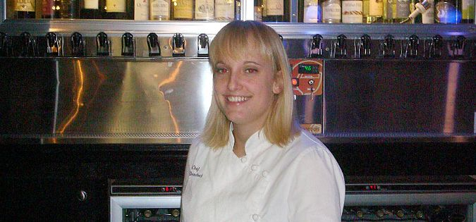 South Carolina Chef Deanna Demchock of Sea Blue Restaurant and Wine Bar on North Myrtle Beach