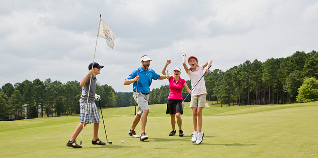 Play a round at family-friendly golf courses in South Carolina.