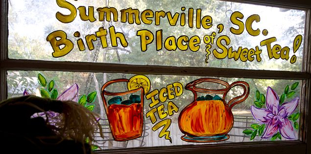 Summervill the Birthplace of Sweet Tea
