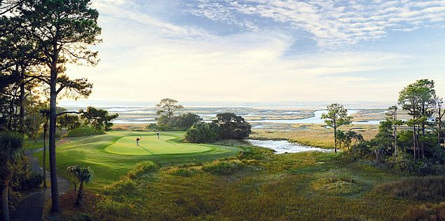 Golf at Fripp Island's Ocean Creek in South Carolina