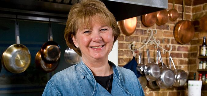 South Carolina Chef Patty Griffey of Abingdon Manor Inn & Restaurant in Latta