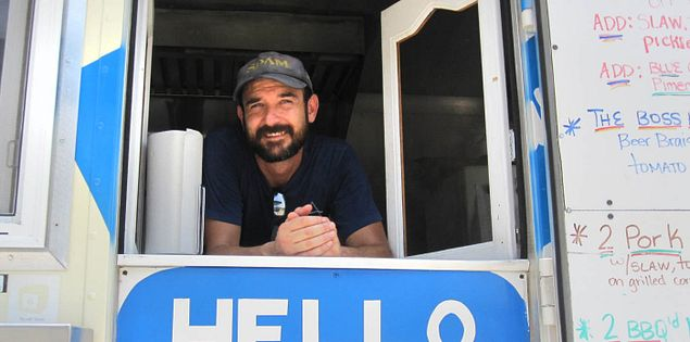 Hello, My Name is BBQ food truck in Charleston, South Carolina