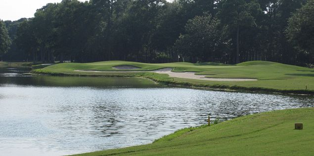 Third hole at Pawley's Plantation
