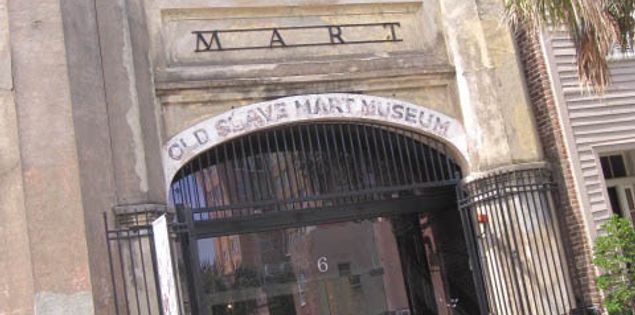 Old Slave Mart Museum in Charleston, South Carolina