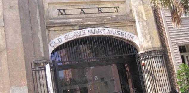 Old Slave Mart Museum in Charleston, South Carolina