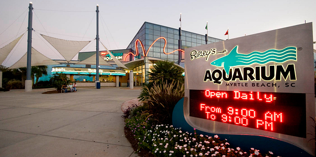 Ripley's Aquarium at South Carolina's Myrtle Beach