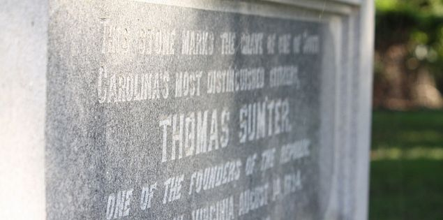 Grave of Thomas Sumter in South Carolina
