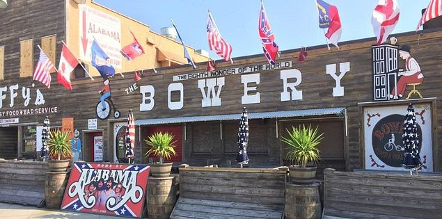 myrtle beach the bowery