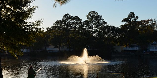 Looking for great places to fish in Myrtle Beach? Check out the lakes at Ocean Lakes Family Campground.