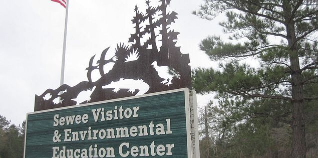 Sewee Visitor and Environmental Education Center in Awendaw, South Carolina