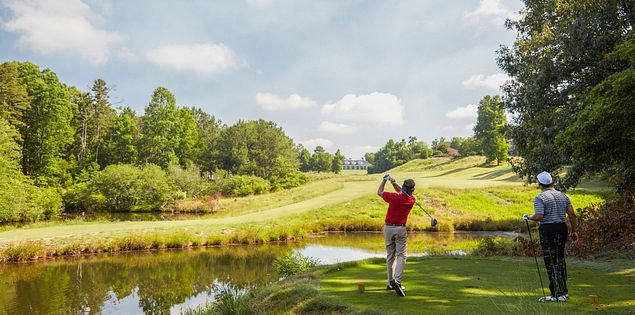 Check out the great golf courses near Greenville, South Carolina.