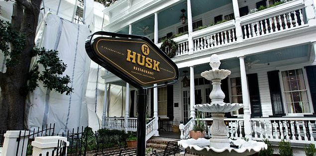 Husk restaurant in Charleston, South Carolina