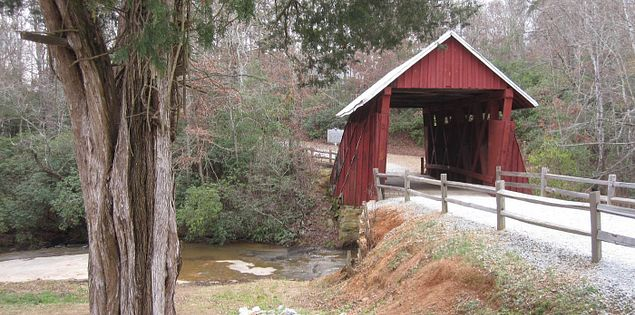 Campbell's Covered Bridge in South Carolina