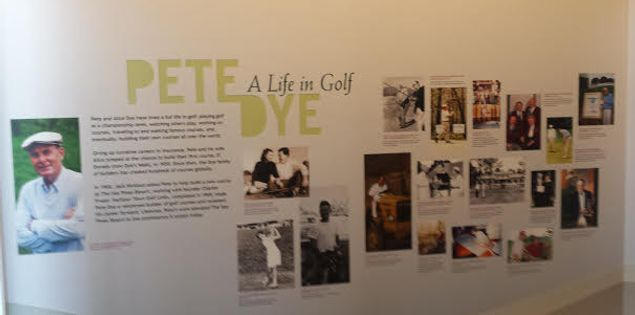 pete dye golf course museum