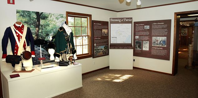 The museum at Andrew Jackson State Park tells the story of Jackson's youth in South Carolina.