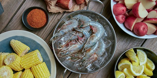 lowcountry frogmore stew low country boil