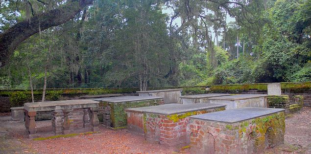 Historic sites at Brookgreen Gardens