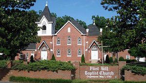 Flint Hill Baptist Church And Cemetery
