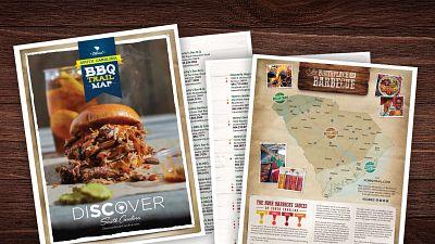 SC BBQ Trail Map