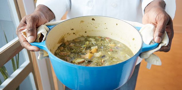 A well-known Gullah culinary preparation.