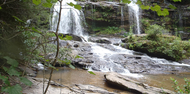 South Carolina's Long Creek Falls on the Chattooga River