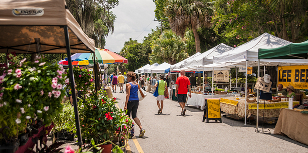 Farmer's Market in Bluffton, South Carolina