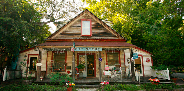 The Store in Old Town Bluffton, South Carolina