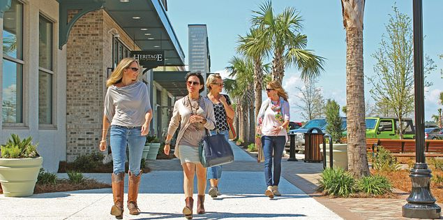 You'll find some of the best shopping on Hilton Head Island at Shelter Cove