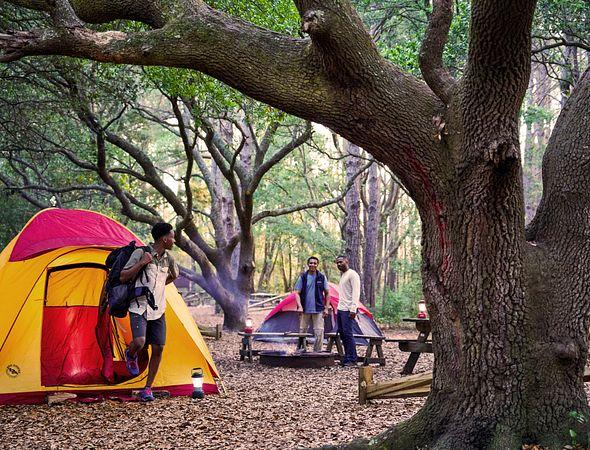 Camping in South Carolina