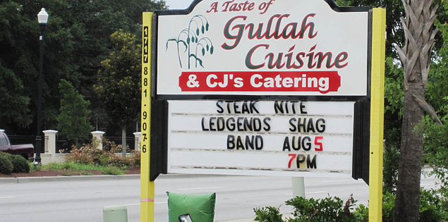Gullah Cuisine located in Charleston, South Carolina