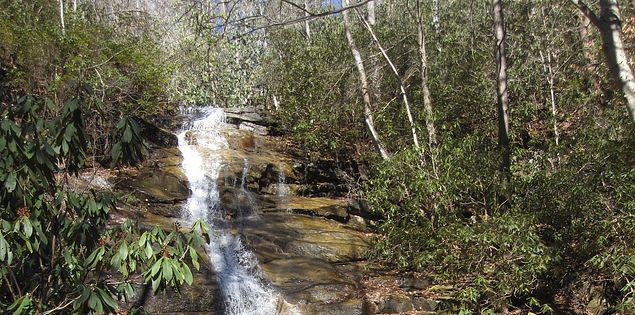 Check out hidden waterfalls in SC.