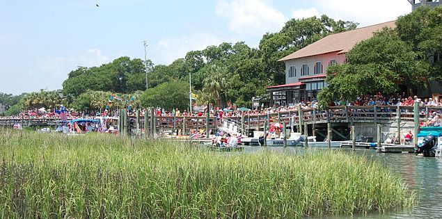 Visit Murrells Inlet, SC, for the Fourth of July Boat Parade!