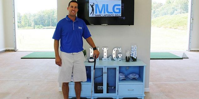 Fort mill golf instructor Marc Lapointe